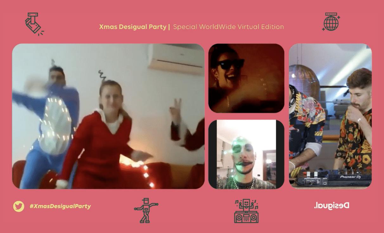 desigual organización fiesta virtual